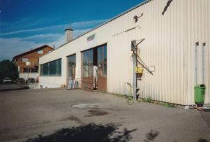 Firmengeschichte altes Gebäude
